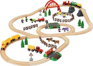 Holzeisenbahn BRIO Country Life Set