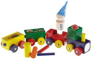 HABA Baby-Holzeisenbahn Lokmock