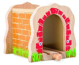 Small Foot Eisenbahntunnel aus Holz