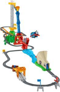 Thomas und seine Freunde Brückensprung-Eisenbahn-Set Trackmaster